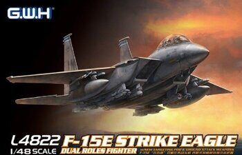L4822 F-15E Strike Eagle Dual-Roles Fighter