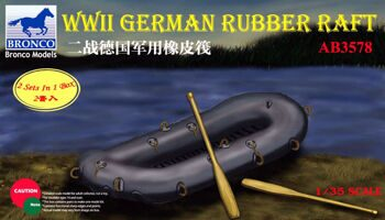 AB3578 1/35 WWII German Rubber Raft