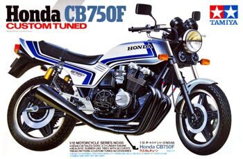 14066 1/12 Honda CB750F 'Custom Tuned'