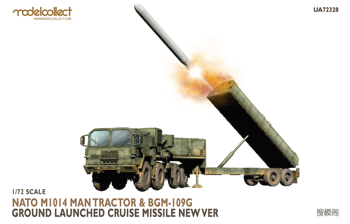 UA72328 Nato M1014 MAN Tractor & BGM-109G Ground Launched Cruise Missile