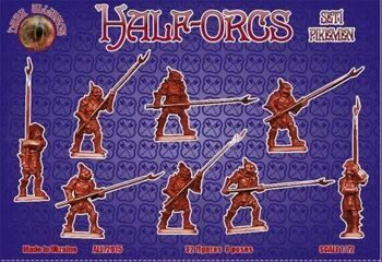ALL72015  Half-Orcs pikemen, set 1