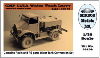 35104 CMP C15A Water Tank Lorry