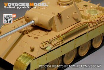 PE35937 WWII German Panther D   Tanks  Basic(MENG TS-038)
