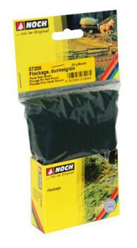 07206 Flock Dark Green 20 g