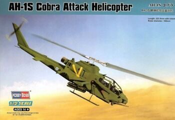 87225 Вертолет AH-1S Cobra Attack Helicopter  (Hobby Boss) 1/72