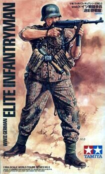 36303 WWII German Elite Infantryman