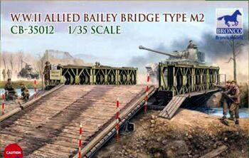 CB35012 WWIIAllied Bailey Bridge Type M2