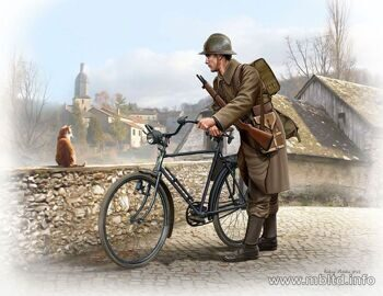 МВ35173 French soldier WWII