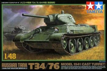 32515 1/48 Сов. танк T34/76 1941г. (cast turret)