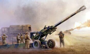 02319 M198 Medium Towed Howitzer late