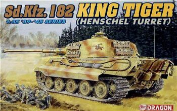 6208 1/35 Sd.Kfz. 182 King Tiger (Henschel Turret)