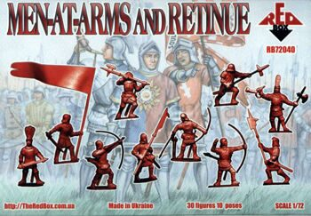 RB72040  Men-at-Arms and Retinue, War of the Roses 1