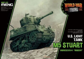 WWT-012 US Light Tank M5 Stuart