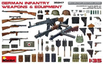 35247 German Infantry Weapons & Equipment