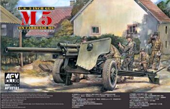 AF35181 105mm HOWITZER M5 Carriage M6
