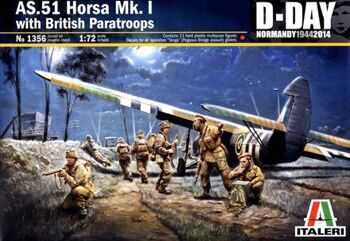 1356 AS.51 HORSA Mk.I with BRITISH PARATROOPS