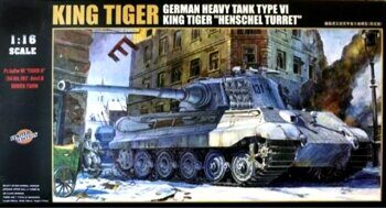 00906 Sd.Kfz.182 King Tiger with Henschel Turret (Limited Edition)