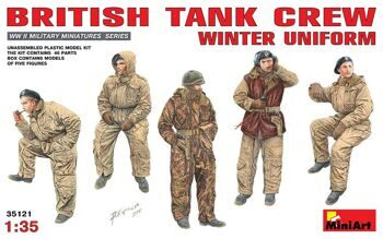 35121  British Tank Crew (Winter Uniform)