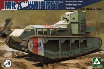 2025 1/35 WWI Medium Tank Mk A  Whippet