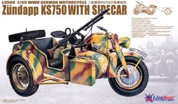 L3508 1/35 WWII German Zundapp KS 750 with Sidecar