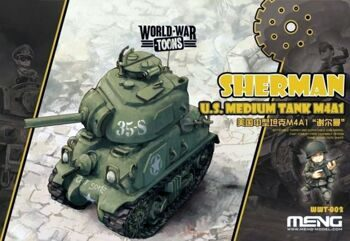 WWT-002 U.S. MEDIUM TANK M4A1 SHERMAN