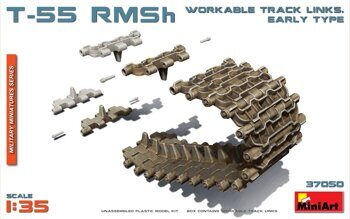 MA37050  T-55 RMSh Workable Track Links. Early Type