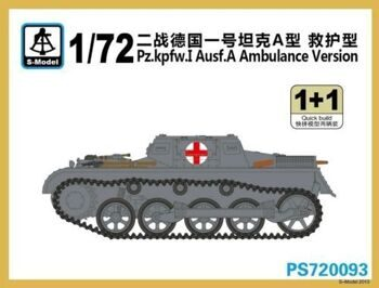 PS720093 Pz.kpfw.I Ausf.A 'Ambulance Version'