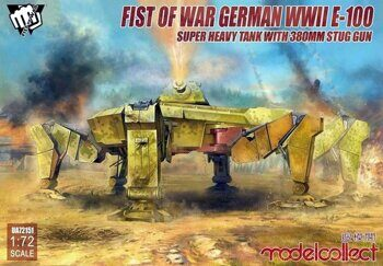 UA72151 Fist of War German WWII E-100 Super Heavy Tank with 380mm