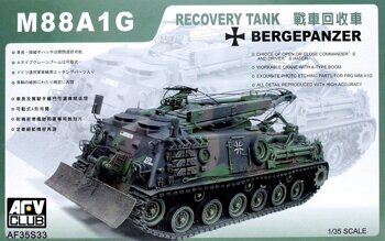 AF35S33 1/35 Recovery Tank M88A1G Bergepanzer