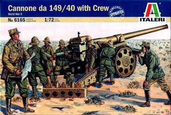 6165  Cannon 149/40 with Crew