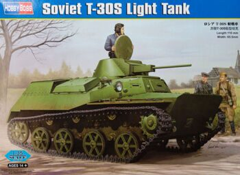 83824 Танк Russian T-30S Light Tank (Hobby Boss) 1/35