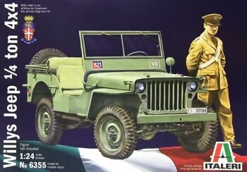 6355 АВТОМОБИЛЬ WILLYS JEEP 1/4 ton 4x4