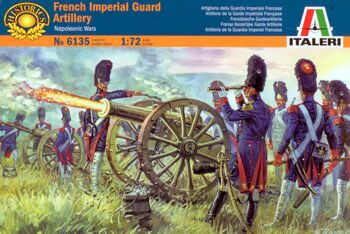 6135 French Imperial Foot Guard Artillery
