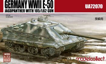 UA72070 Germany WWII E-50 STUG with 105/L62 gun