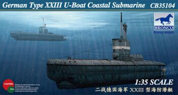 CB35104 German Type XXIII U-Boat Coastal Submarine