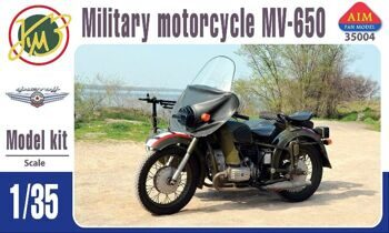 35004 MV-650 military motorcycle