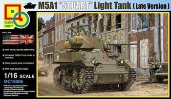 MC16006 1/16 M5A1 Stuart (Late Production)