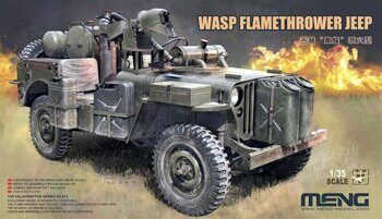 VS-012 1/35 MB Military Vehicle WASP Flamethrower