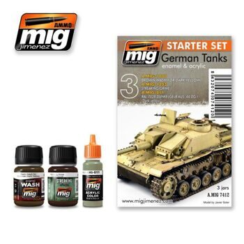 AMIG7412 GERMAN TANKS SET (Набор: 1000, 1203, 011)