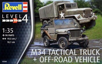 03260 U.S. M34 Tactical Truck & Off-Road Vehicle