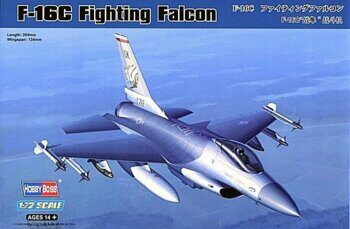 80274 Самолет:F-16C Fighting Falcon  1/72