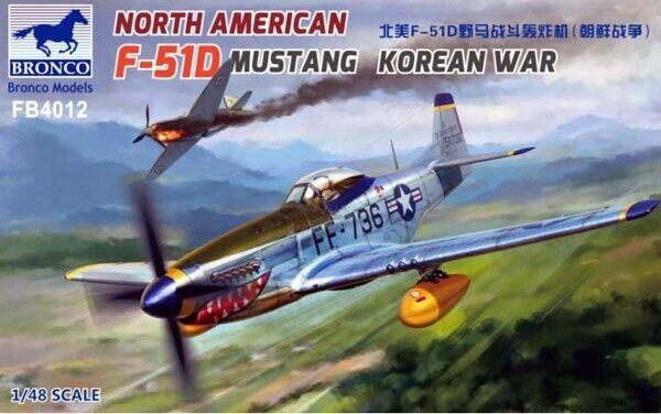 FB4012 North American F-51D Mustang Korean War