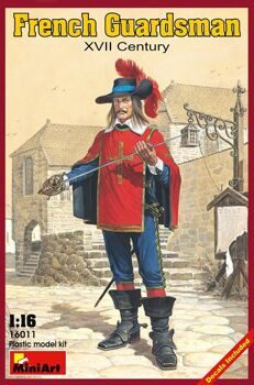 16011  French guardsman, XVII century