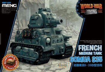 WWT-009 French Medium Tank Somua S-35