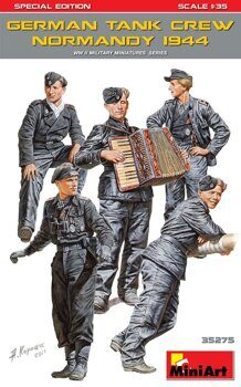 MA35275  German Tank Crew ( Normandy 1944 ) Special Edition