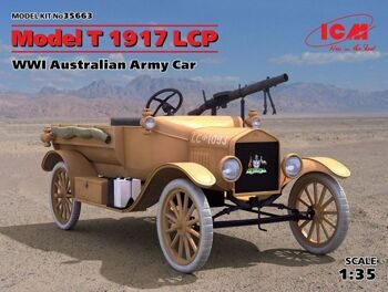 35663 FORD T 1917 LCP (WWI Australian Army Car)