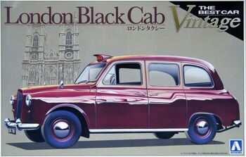 000724 1/24 LONDON BLACK CAB