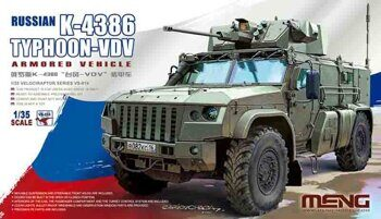 VS-014 Russian K-4386 Typhoon-VDV Armored Vehicle