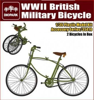DP35010 1/35 WWII British Military bicycle