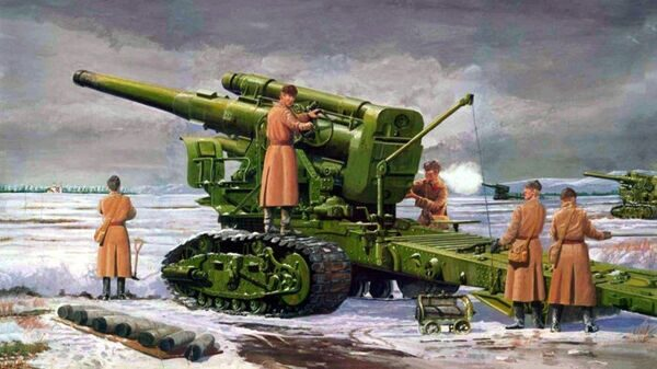 02307 1/35 Soviet B4 Model 1931 203mm Howitzer